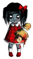 A little zombie girl by Yersey