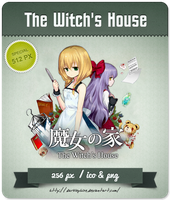The Witch's House - RPG Icon by Darklephise