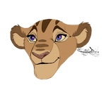 Headshot Commish1 for Bawfle by mysteriousharu