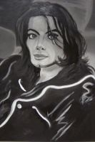 Michael Jackson Invincible Era (Unfinished) by spidyphan2