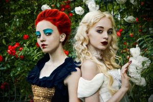 Queens of Wonderland by ideea