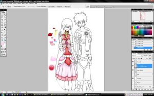 Raaus and Lisse - WIP2 by BloodUzumaki