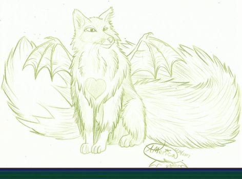 Bat-Fox Lusus by AmericanBlackSerpent