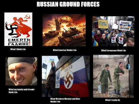 Russian Ground Forces - What I Do meme by AskRussianArmy