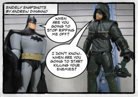 Not just Batman with archery skills by GhostLord89