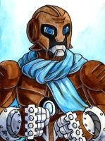 Sketchcard Power Stone Pride Falcon Power Charge by fedde