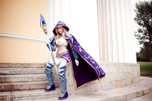 Warcraft III - Sorceress Jaina Proudmoore by Narga-Lifestream