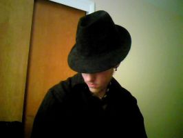 Me and my new hat. by blasphemous-preist