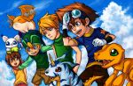 Digimon Brothers and Sisters by curry23