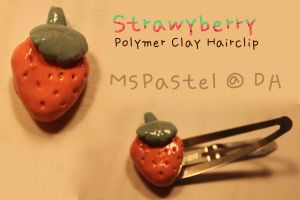 Polymer Clay Hairclip 3 by MsPastel