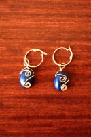 Easter Egg Earrings by Charmed-Ravenclaw