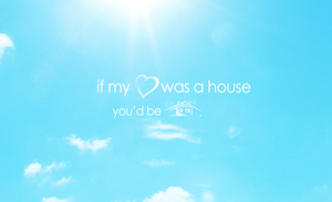If my heart was a house.... by manishdesigns