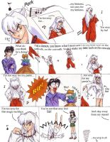InuYasha, I'm too sexy... by TresMaxwell