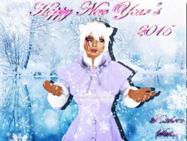 Happy New Years 2015! by TheBlackCatRei