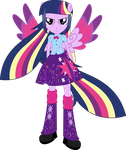 Rainbowfied Twilight Sparkle by shaynelleLPS
