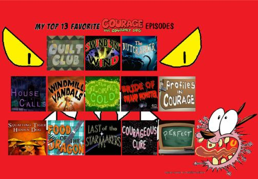 Favorite Courage the Cowardly Dog Episodes part 3 by TandP