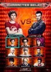 Scott Pilgrim Character Select by Alecx8