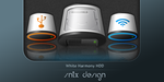 White Harmony HDD by sntxdesign