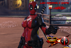 Cammy X Lady Deadpool  Updated for Season 2 by xHECZx