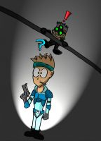 Sam Fisher meets Snake by dantiscus