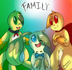 :PC: Family by Dragonikku