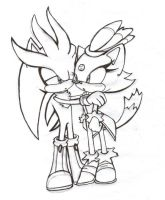 Silver and Blaze by hayleigh