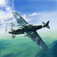 ww2 fighter by sspit