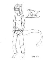 Tisef the Mewthree by Faullyn