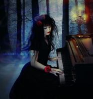 Lonely Pianist by kazelisa