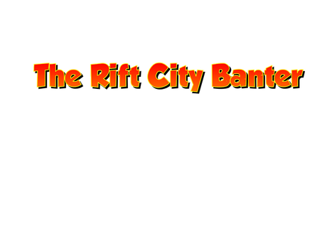 The Rift City Banter Text vector  by ZDoso