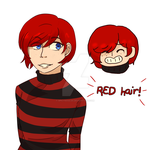 Red hair! by Soulfire402