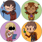Novel Tea Games: Chibi Icons by ButterLux