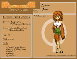SLC Profile Jana by Speciesunkn0wn