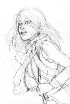 Unpublished Sketch n3 by CintiaGonzalvez