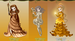 Bronze, Silver, and Gold by Saint-Pandora