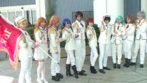Whole male cast from Uta No Orince-Sama at AX 2013 by trivto