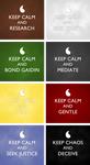 Aes Sedai ''Keep Calm'' Posters by xxtayce
