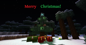 Merry Christmas from minecraft! by Danny-Senpai
