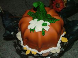 Pumpkin Cake by ICount