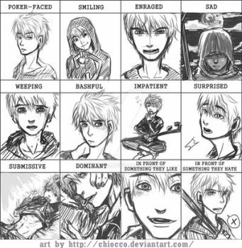 Pixiv Expression Meme-Jack Frost by chiocco