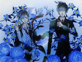 Blue Exorcist::Floral Mist by SiSero