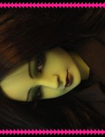 Elphaba Faceup 1 by PinkHazard