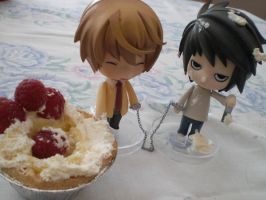 Death Note: Food Fight Part 1 by Bexifer