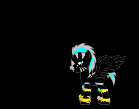 Darkice The Pegasus by spikestormify