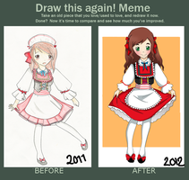Before and after meme by Mimiiz
