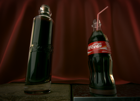 Coke bottles by TSF98