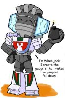 Wheeljack's Introduction by Hacker-Warrior