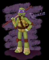 TMNT2k12 - Donnie by MaryThaCake