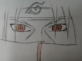 Itachi Uchiha - sharingan by GSPARRowdeathlegend