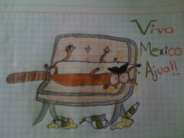 Viva mexico!(?) by LittleThingsCxD